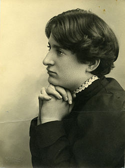 Portrait of Chana Orloff by Avraham Soskin.jpg