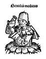 Portrait of Gentilis de Fulgineo, 'Gentilis medicus' Wellcome M0004114.jpg
