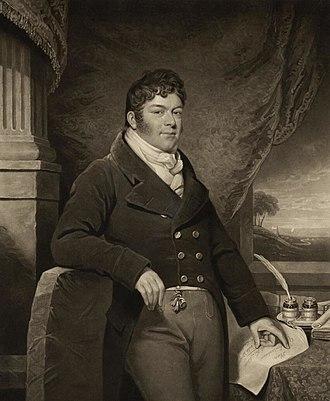 William Madocks - W. A. Madocks ca. 1812