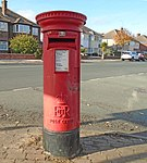 Postbox on Saltburn Road, Wallasey.jpg