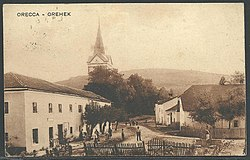 Postcard of Orehek 1927.jpg