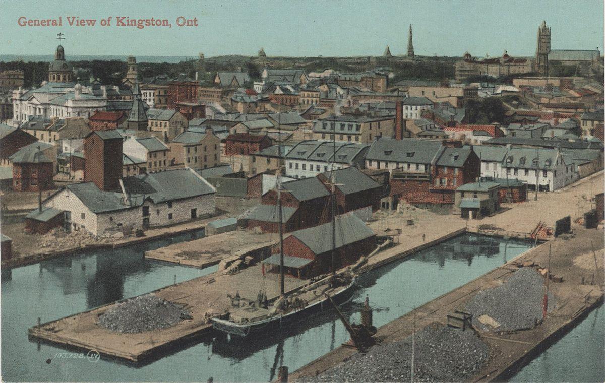 Kingston ontario inner harbour wikipedia for The kingston
