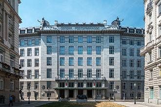 Österreichische Postsparkasse - Vienna headquarters of the Österreichische Postsparkasse, built by Otto Wagner