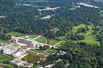 Potsdam Luftbild Park Sanssoucis Neues Palais Orangerie Schloss Sanssouci Foto Wolfgang Pehlemann Wiesbaden DSCN0804.jpg