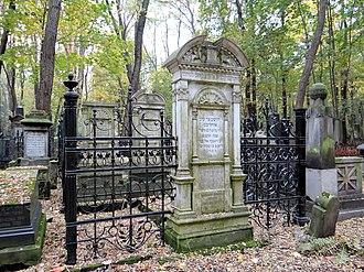 Jewish Cemetery, Warsaw - Graves at Okopowa Street Jewish Cemetery.