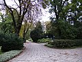 Poznań, ogród zoologiczny (stary), kon. XIX ---aleja03.JPG