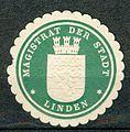 Prägesiegel des Magistrats der Stadt Linden.jpg