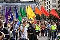 Praha, Prague Pride, čelo průvodu II.jpg