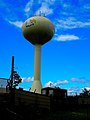 Prairie du Sac Water Tower Eagle Logo - panoramio.jpg