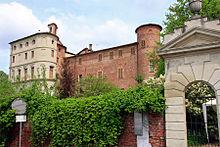 Castello di Pralormo da sud