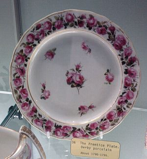 William Billingsley (artist) - The Prentice Plate