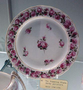 William Billingsley (artist) - The Prentice Plate