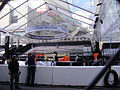 Preparing for the 83rd Annual Academy Awards - the red carpet center stage under plastic (expecting rain) (5475523208).jpg