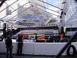 File:Preparing for the 83rd Annual Academy Awards - the red carpet center stage under plastic (expecting rain) (5475523208).jpg