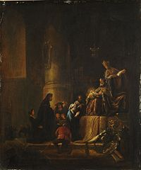 Presentation to the temple