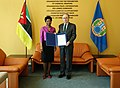 Presentation of Letters of Credentials Mozambique OPCW (47568791432).jpg