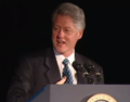 President Clinton at a Dinner Honoring Rep. John Lewis (2000) 10.png
