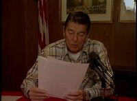 File:President Reagan's Radio Address to the Nation on 1984 Campaign. Camp David, October 13, 1984.webm