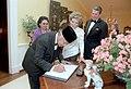President Ronald Reagan and Nancy Reagan during the State Visit of President Soeharto of Indonesia and Siti Hartinah.jpg