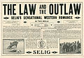 Press sheet for THE LAW AND THE OUTLAW, 1913 (Page 1).jpg