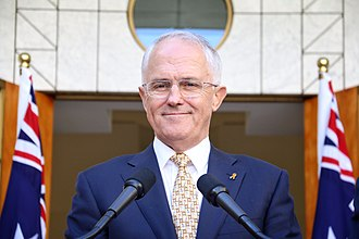 2016 Australian federal election - Prime Minister Malcolm Turnbull in March 2016