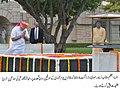 Prime Minister Narendra Modi pays tribute to Mahatma Gandhi at Rajpath.jpg