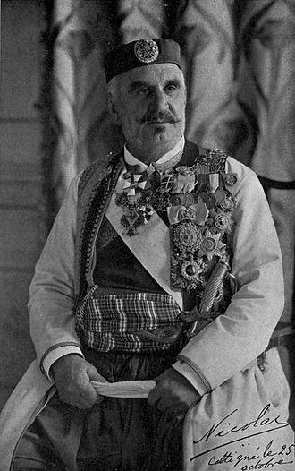 Prime Minister of Montenegro - Image: Princ Nicholas of Montenegro (W Le Queux)