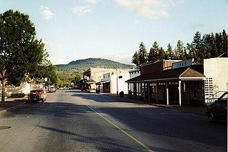 Princeton, British Columbia - Image: Princeton BC
