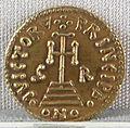 Principato di benevento, emissione aurea di grimoaldo III, zecca di benevento, 788-806.JPG