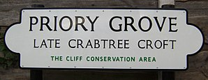 William Crabtree - Image: Priory Grove