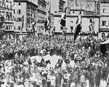 Proclamazione della Reggenza italiana del Carnaro.