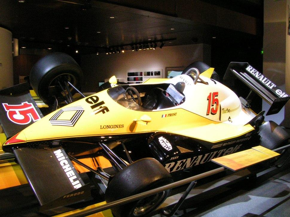 Prost Renault Paris
