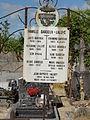 Prouvais (Aisne) cimetière plaque Jean-Baptiste Halary mort pour la France.JPG
