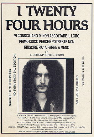 Twenty Four Hours first Album Advertising