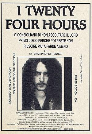 Twenty Four Hours first Album Advertising