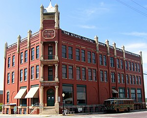 National Register of Historic Places listings in Logan County, Oklahoma - Image: Publishing Building