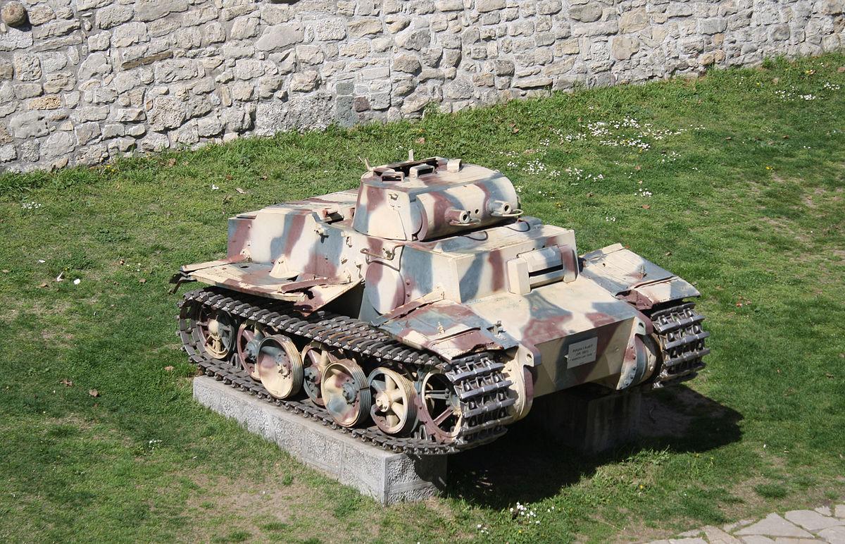 Panzerkampfwagen I Ausf. F – Wikipedia, wolna encyklopedia