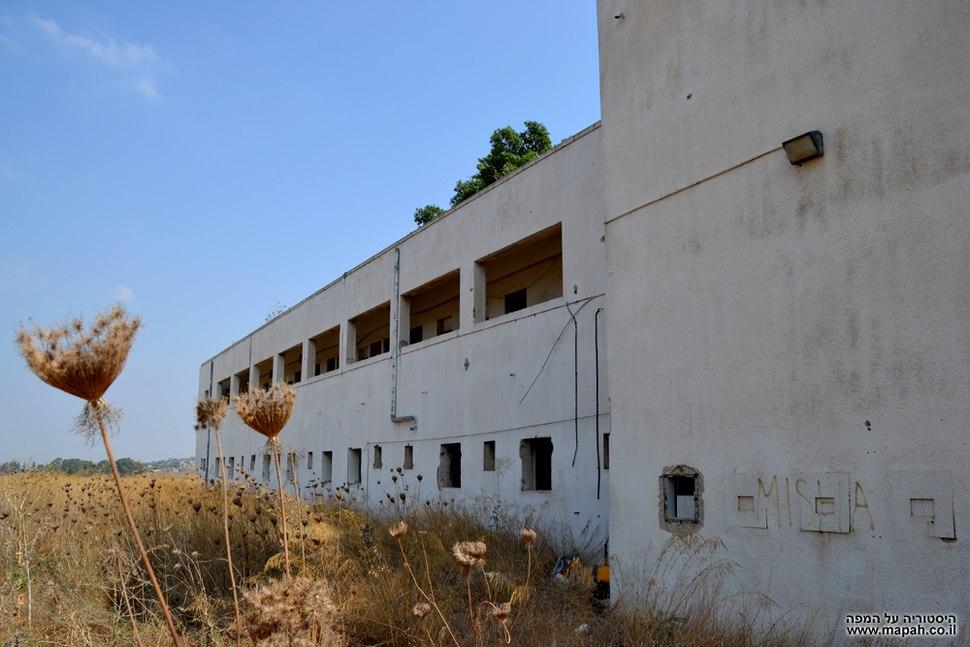 Qatra police station near gedera israel efi elian backside
