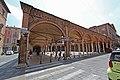 Quadriportico di Santa Maria dei Servi, angolo tra Strada Maggiore e Via Guerrazzi. - panoramio.jpg