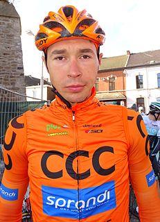 Adrian Kurek Polish road racing cyclist