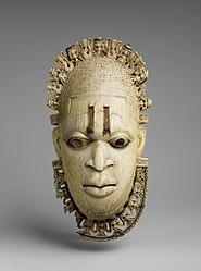 Ẹ̀gbà ọrùn bí ìbòju tí Benin