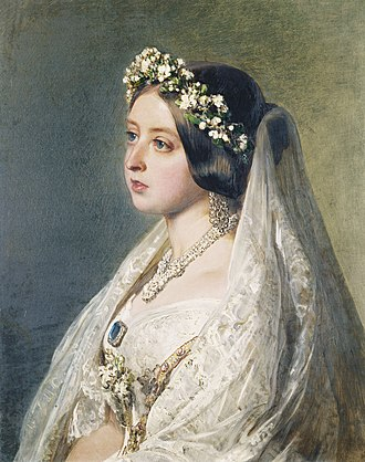 Wedding dress of Queen Victoria - Image: Queen Victoria, 1847