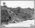 Queensland State Archives 3110 Excavation for road widening at Petrie Bight Brisbane 4 July 1935.png