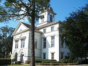 Brooks County Courthouse in Quitman