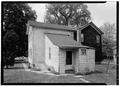 REAR - Elizabeth Cady Stanton House, 32 Washington Street, Seneca Falls, Seneca County, NY HABS NY,50-SENFA,2-3.tif