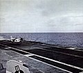 RF-8A Crusader of VFP-63 landing on USS Hancock (CVA-19), in 1963.jpg