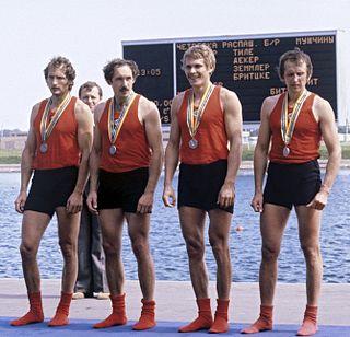 Valeriy Dolinin Russian rower