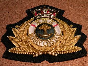 "Wray Castle - The Badge of ""RMS Wray Castle"" (as worn by some Cadets during Merchant Navy College days)"