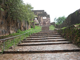 Ranthambore Fort - Image: RNP A