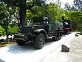 ROCA M2A1 Halftrack and Taiwan Sugar Railway SL Display in Chengkungling 20121006.jpg
